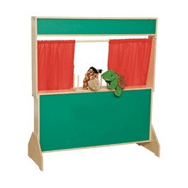 Deluxe Puppet Theater - Chalkboard - Puppet stand and accessories not included
