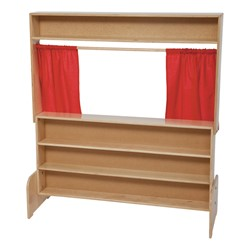 Deluxe Puppet Theater - Markerboard - Back shown