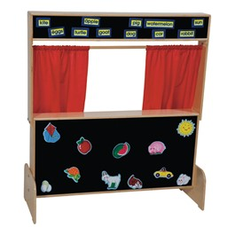 Deluxe Puppet Theater - Flannelboard - Accessories not included