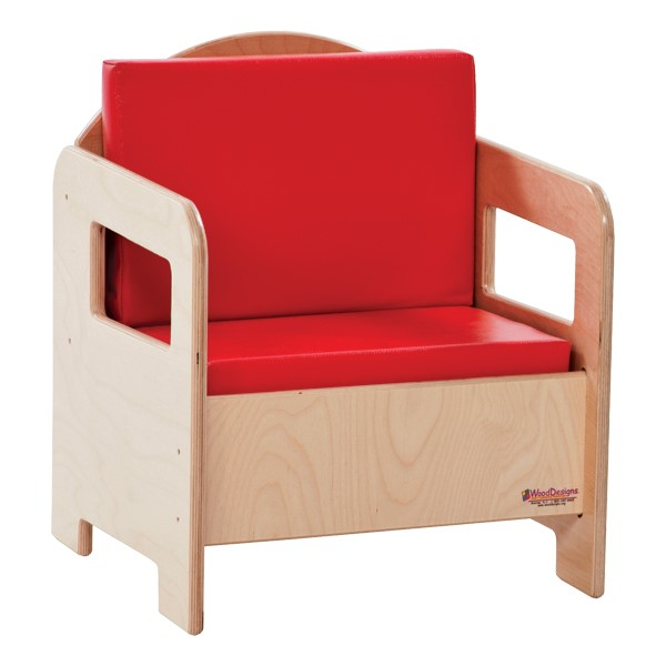 Children's Living Room Furniture - Chair - Red
