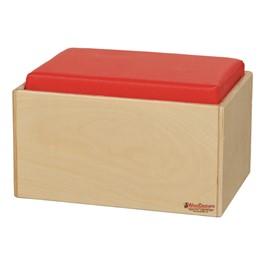 Children\'s Living Room Furniture - Single Bench - Red