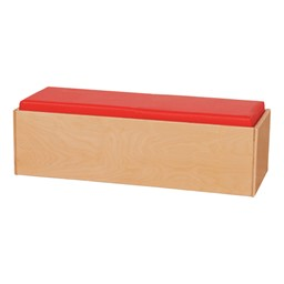 Children's Living Room Furniture - Double Bench - Red