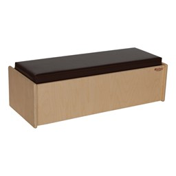 Children's Living Room Furniture - Double Bench - Brown