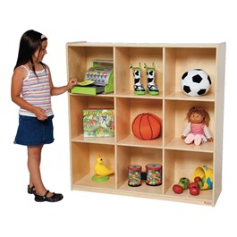 Big Cubby Storage w/ 9 Cubbies - Accessories not included