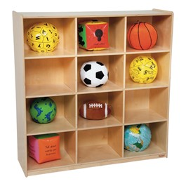 Big Cubby Storage w/ 12 Cubbies - Accessories not included