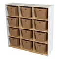White Cubby Storage