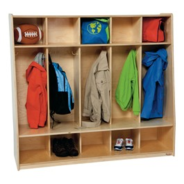 Five-Section Seat Locker