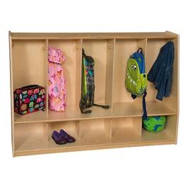 Five-Section Tot Locker