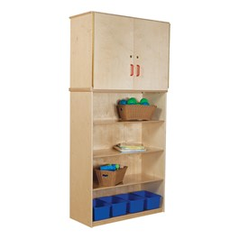 Vertical Storage Cabinet w/ Shelving