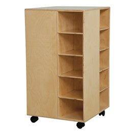 Space Saver Cubby Spinner w/o Trays