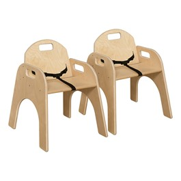 """Woodie Chair w/ Belt (13\"""" Seat Height) - Pack of Two"""