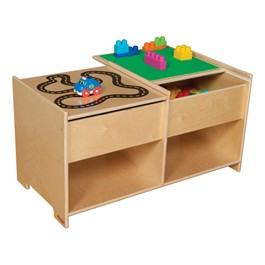 Build-N-Play Table w/ Racetrack