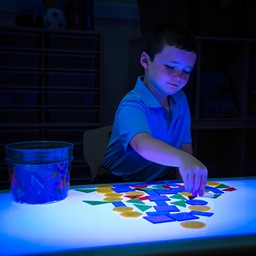 """Brilliant Light Table (30"""" W) - Sensory toys not included"""