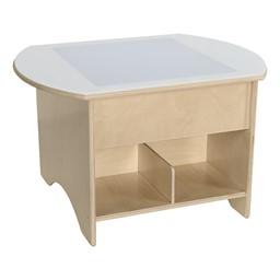 """Brilliant Light Table w/ Storage (30"""" W)"""