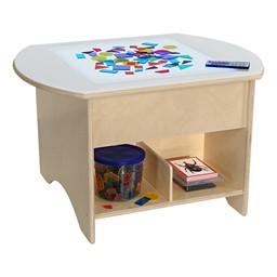 "Brilliant Light Table - 30"" W (Geometric Shapes Not Included)"