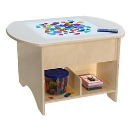 """Brilliant Light Table w/ Storage (30\"""" W)"""