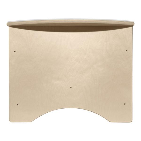 """Brilliant Light Table w/ Storage (30"""" W) - Side"""
