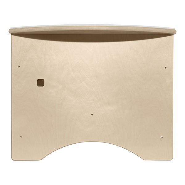 "Brilliant Light Table w/ Storage (30"" W) - Back"
