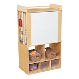 Store-It-All Teacher Center - Markerboard Side