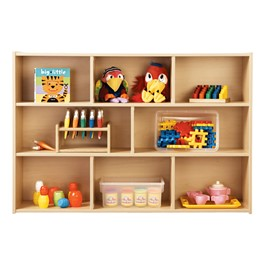 Three-Shelf Storage Unit