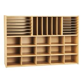 Sectional Cubby Storage Unit w/o Trays