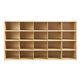 20-Tray Cubby Storage Unit w/o Trays