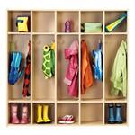 Five-Section Locker Unit