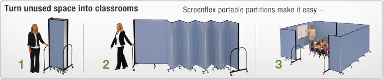 screenflex banner