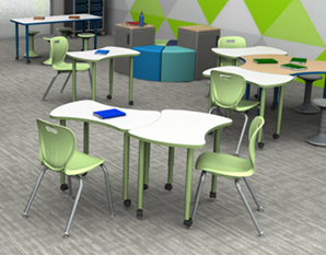 7 Reasons to Love Our New Accent Series Collaborative Tables