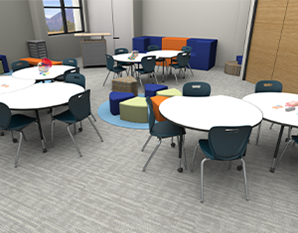 Collaborative Whiteboard Tables: A Versatile Learning Tool